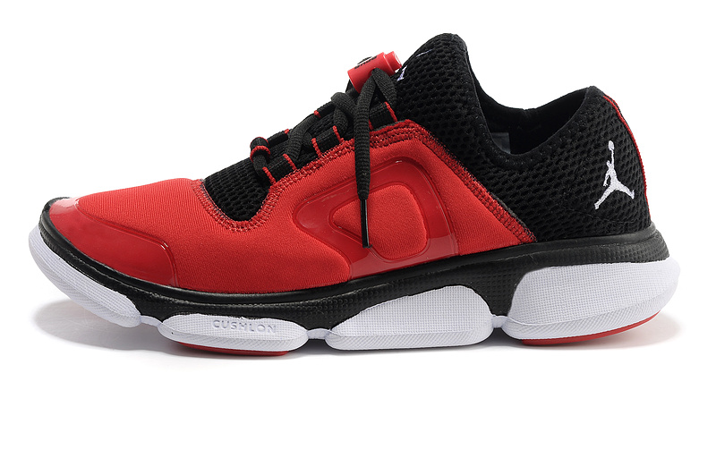 2013 Air Jordan Running Shoes Red Black White