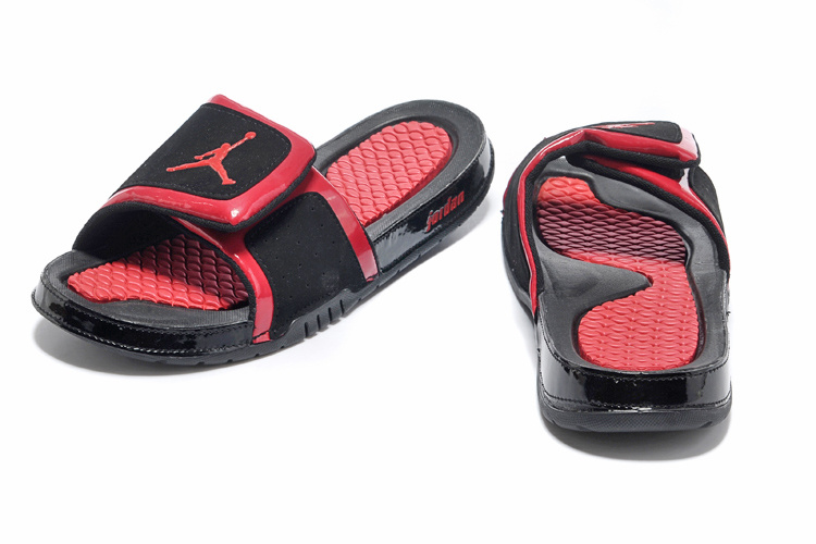 2013 Jordan Hydro 2 Black Red Slipper
