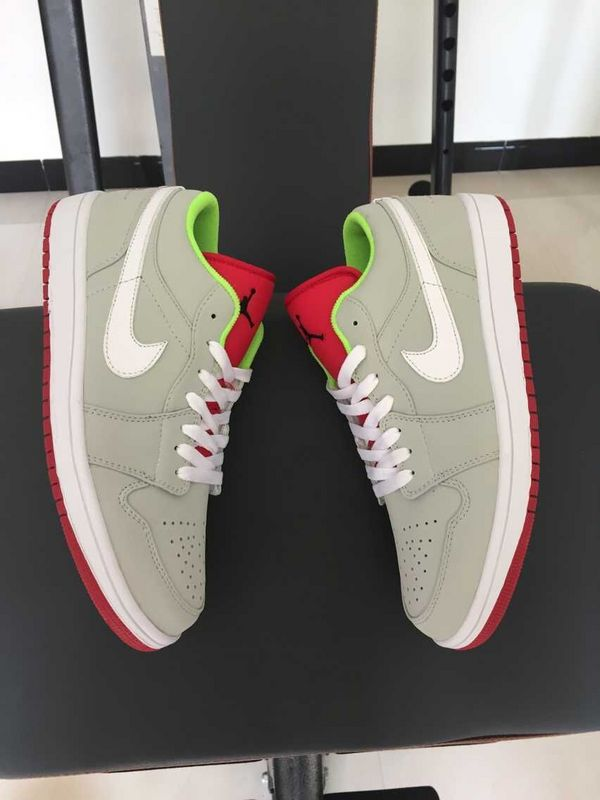 2015 30th Air Jordan Low Grey Red Green Shoes
