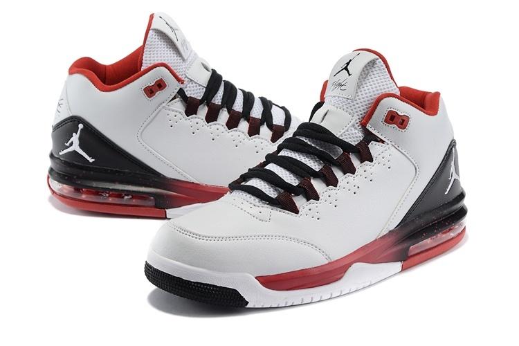 2015 Air Jordan Flight Original 2 White Black Red White Jumpman ... 6513f82d7fc5