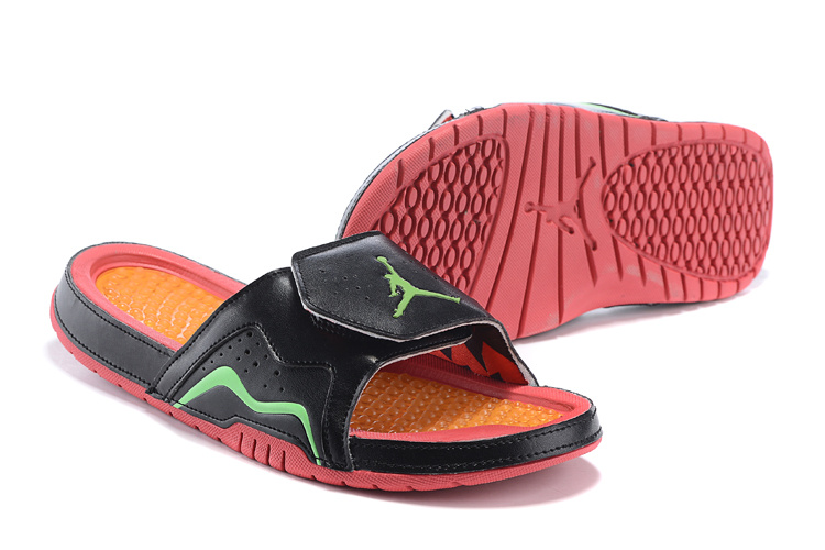 2015 Jordan 7 Retro Hydro Black Green Orange