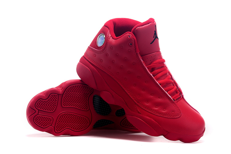 2015 Original Air Jordan 13 Retro All Red Shoes  AJM004  -  80.00 ... 1d0a5a2f55