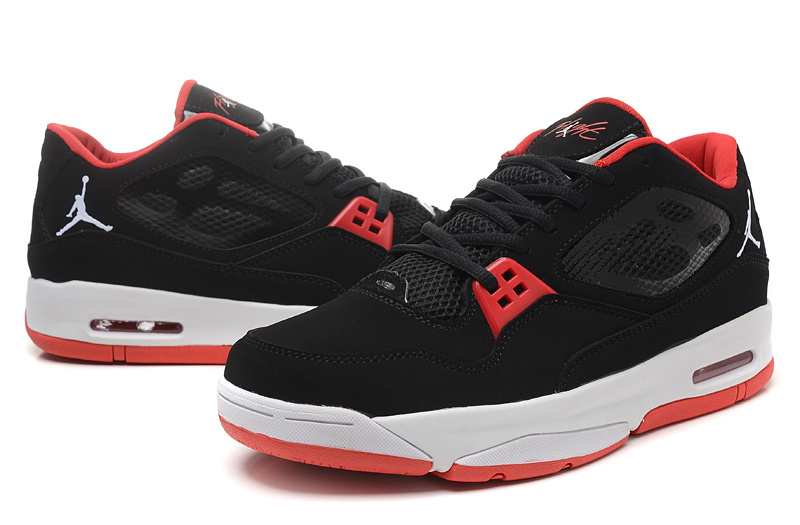 7eadae4b033 2015 Original Air Jordan Flight 23 RST Low Black Red Shoes ...