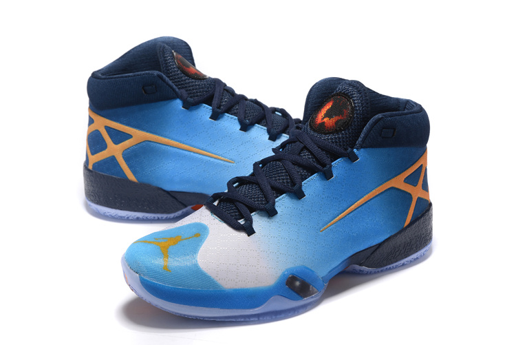 2016 Air Jordan 30 Blue Black Orange