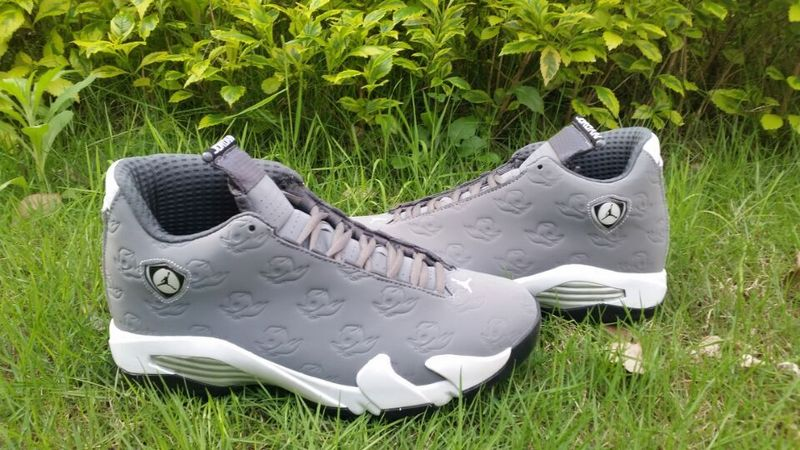 2016 Jordan 14 Orego Grey Shoes