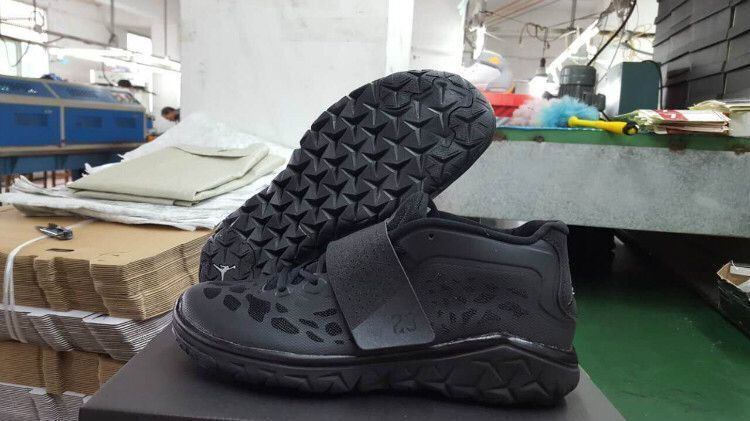 2016 Air Jordan Running Shoes All Black
