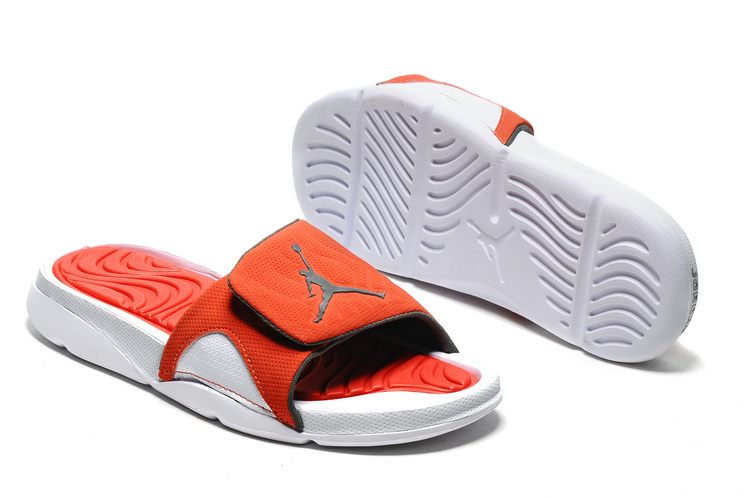 2016 Jordan Hydro IV Retro Reddish Orange White Sandal