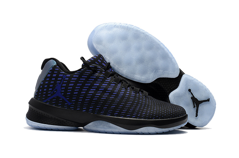 2017 Air Jordan Basketball SHoes Black Blue