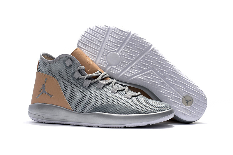2017 Air Jordan Grey Brown Casual Shoes