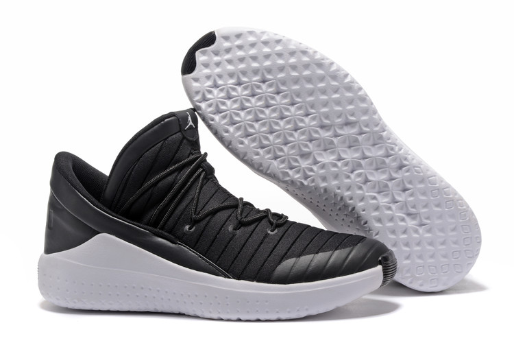 2017 Jordan Flight Luxe Black White Shoes
