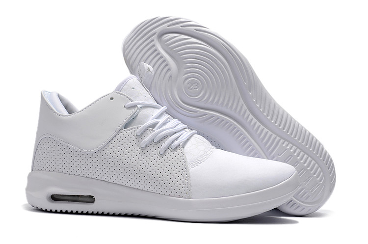 2018 Air Jordan Running Shoes All White