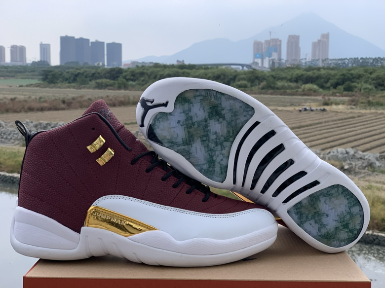2019 Air Jordan 12 Game Ball Shoes