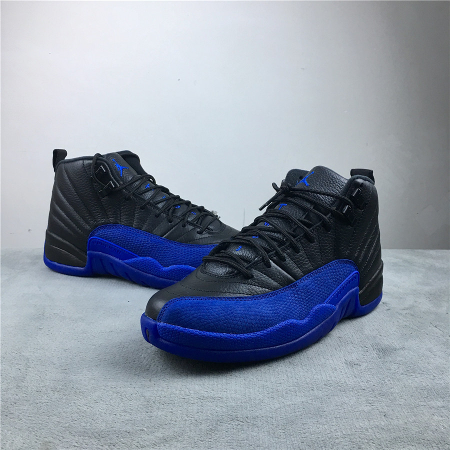 2019 Air Jordan 12 Game Royal Black Shoes