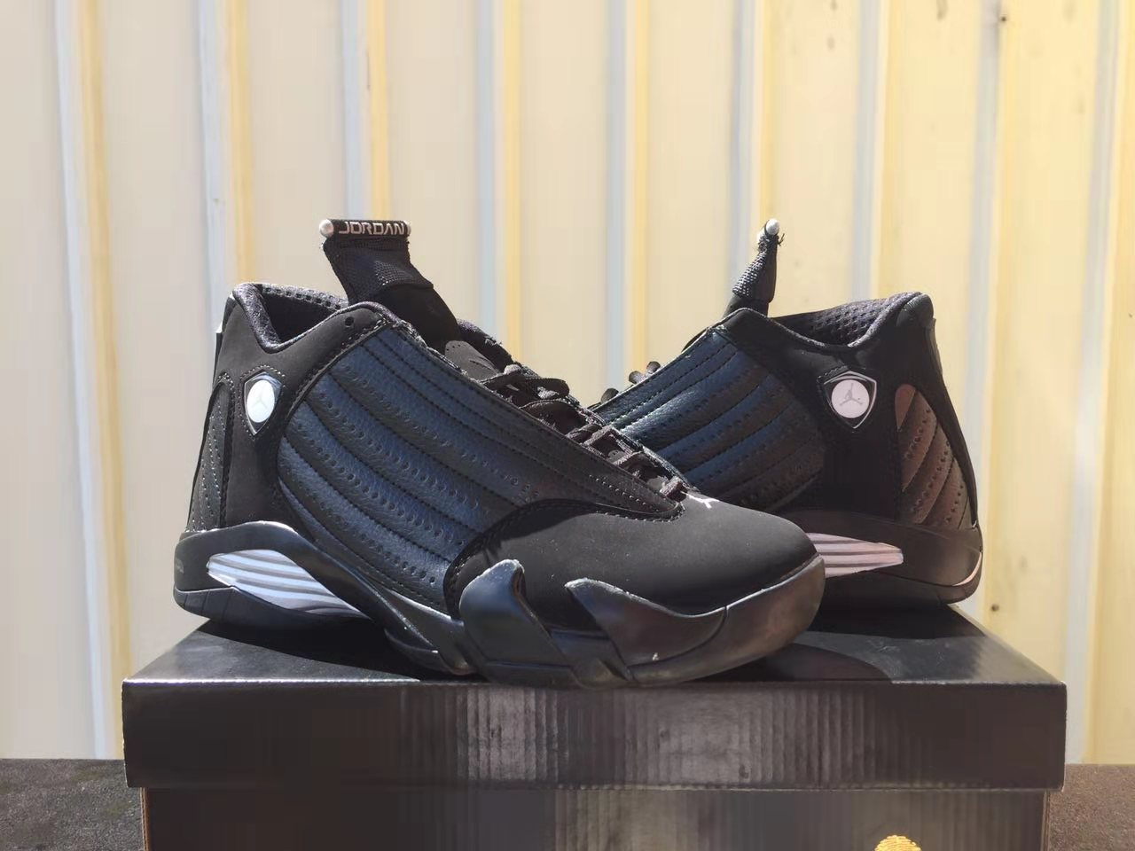 2019 Air Jordan 14 Charity Black Shoes