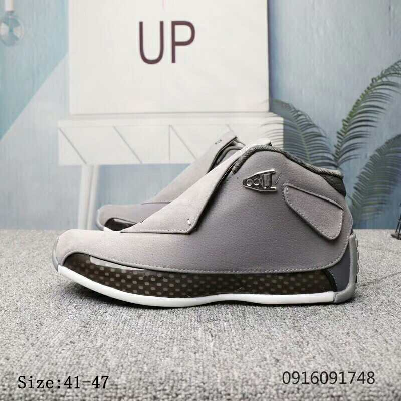 Air Jordan 18 Grey Shoes