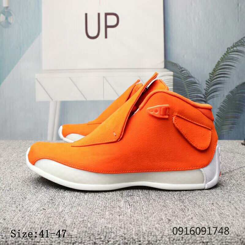 Air Jordan 18 Orange Shoes