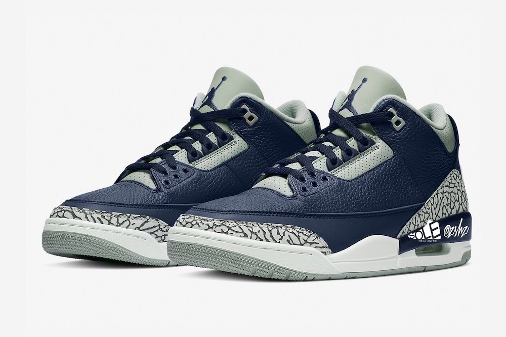 Air Jordan 3 Midnight Navy Shoes
