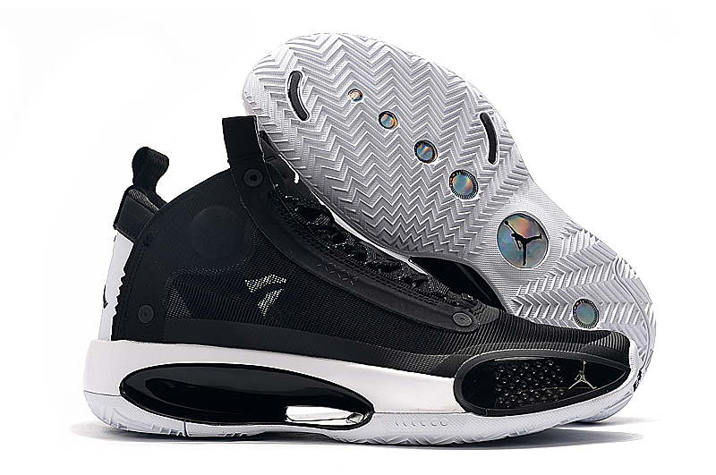 Air Jordan 34 Black White Shoes