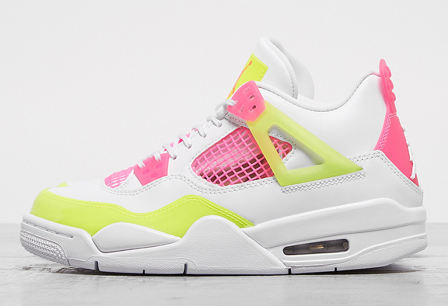 Air Jordan 4 GS Lemon Venom Shoes