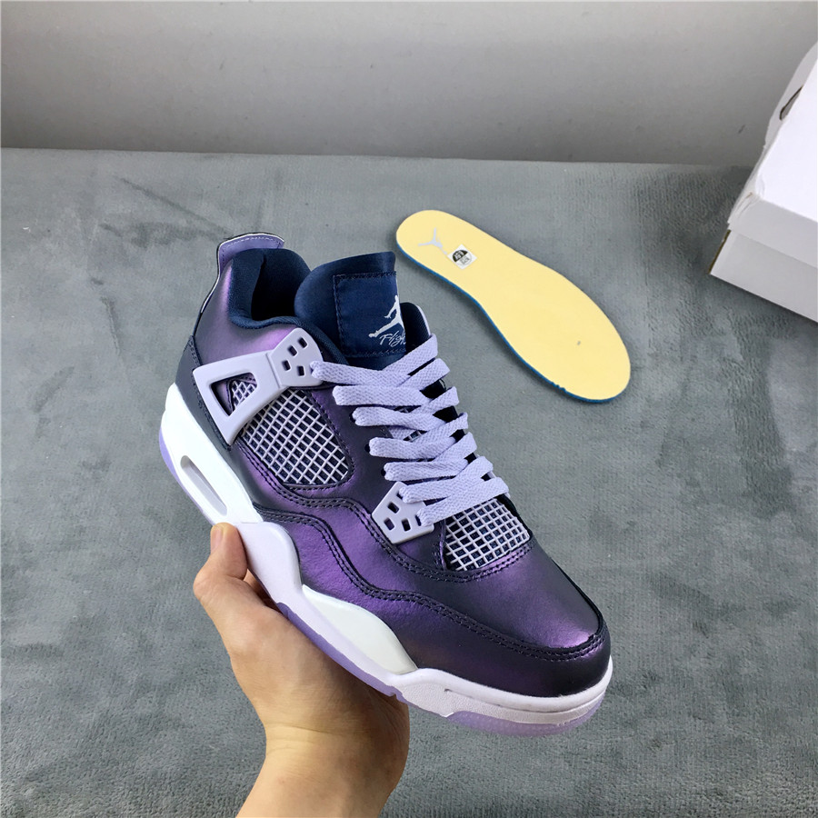 Air Jordan 4 Monsoon Blue Shoes