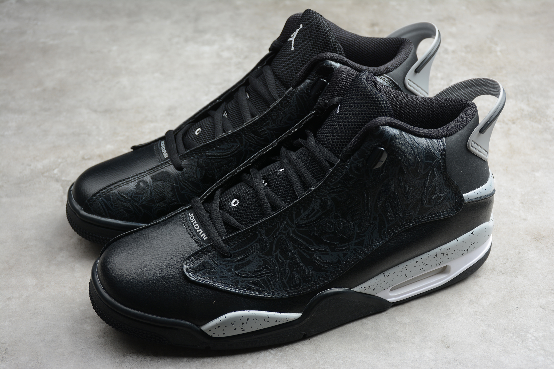 Air Jordan DUB Zero Black Grey Shoes