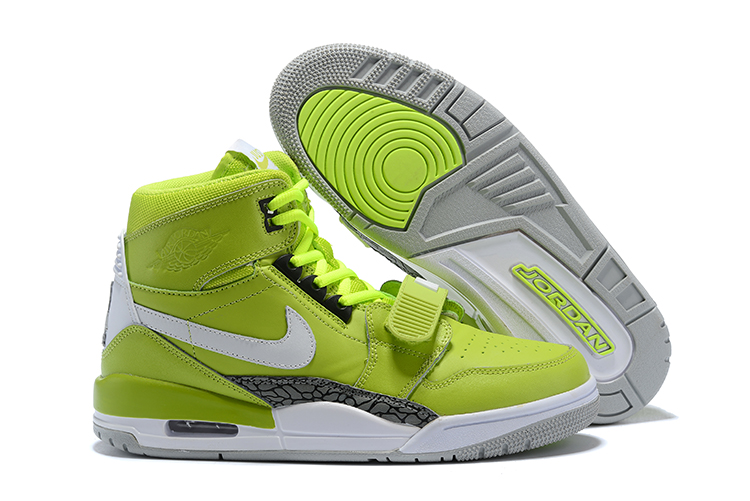 Air Jordan Legacy 312 Apple Green White Shoes