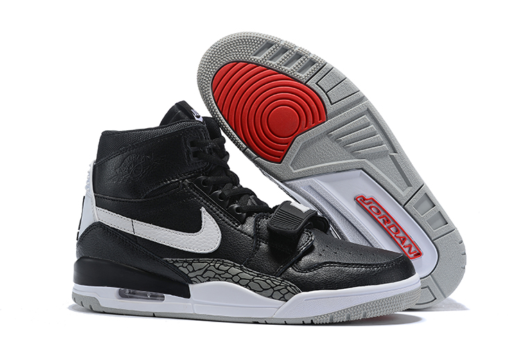 Air Jordan Legacy 312 Black Grey Shoes