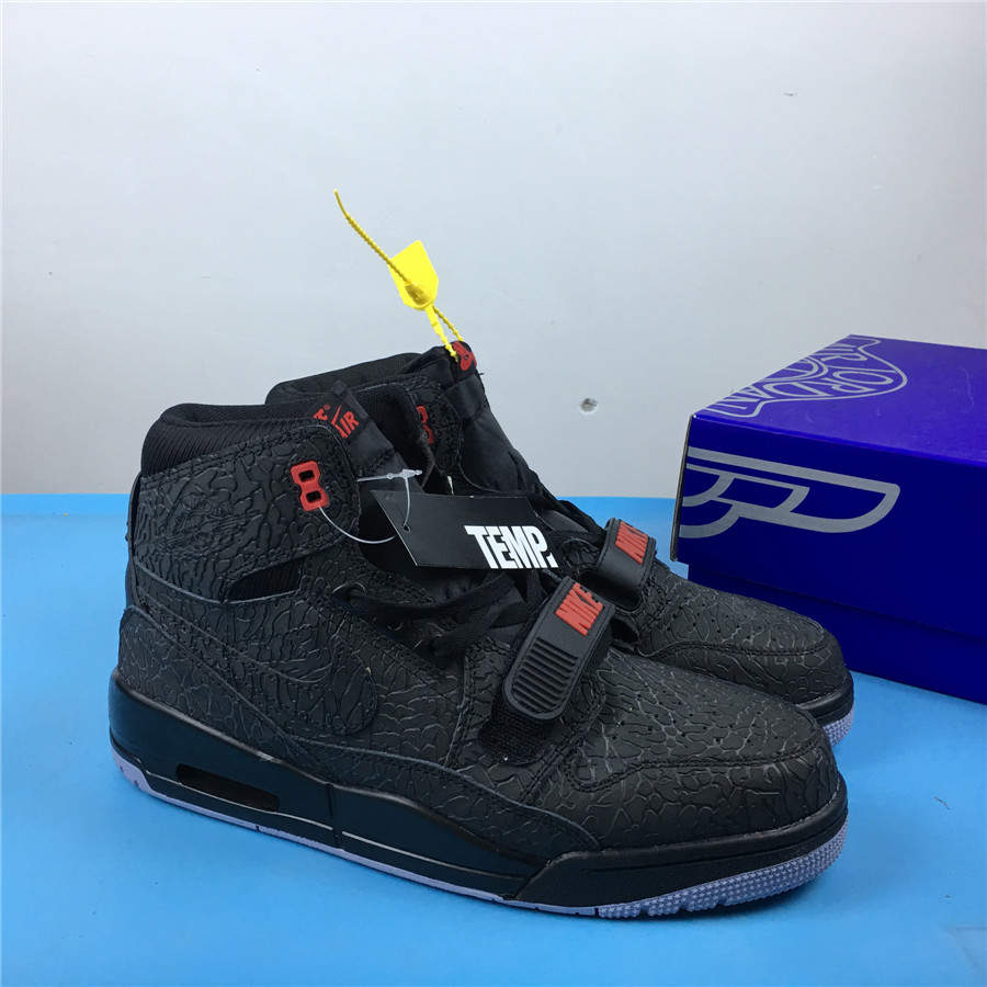 Air Jordan Legacy 312 Cool Black Shoes