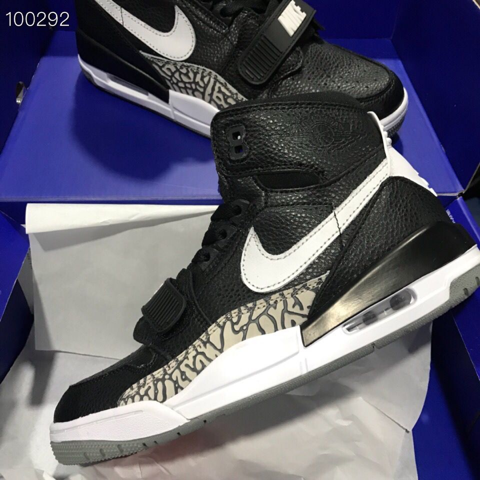 Air Jordan Legacy 312 NRG Black Cement Grey White Shoes