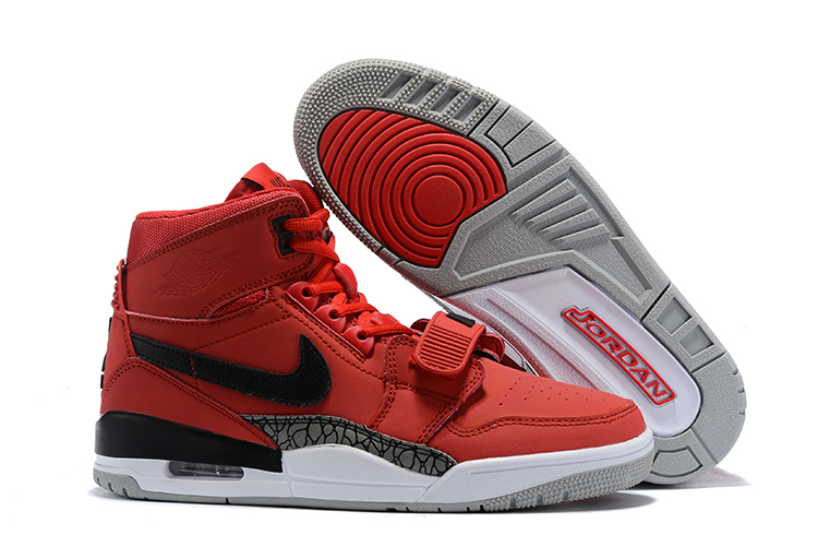 Air Jordan Legacy 312 Red Black Shoes