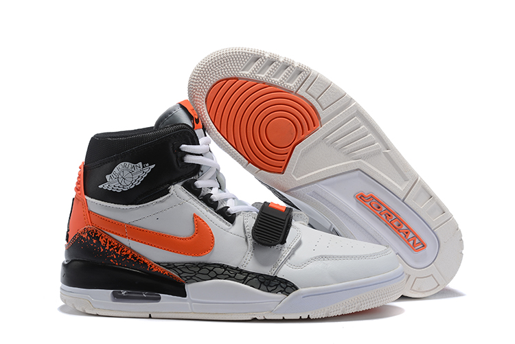 Air Jordan Legacy 312 White Orange Black Shoes