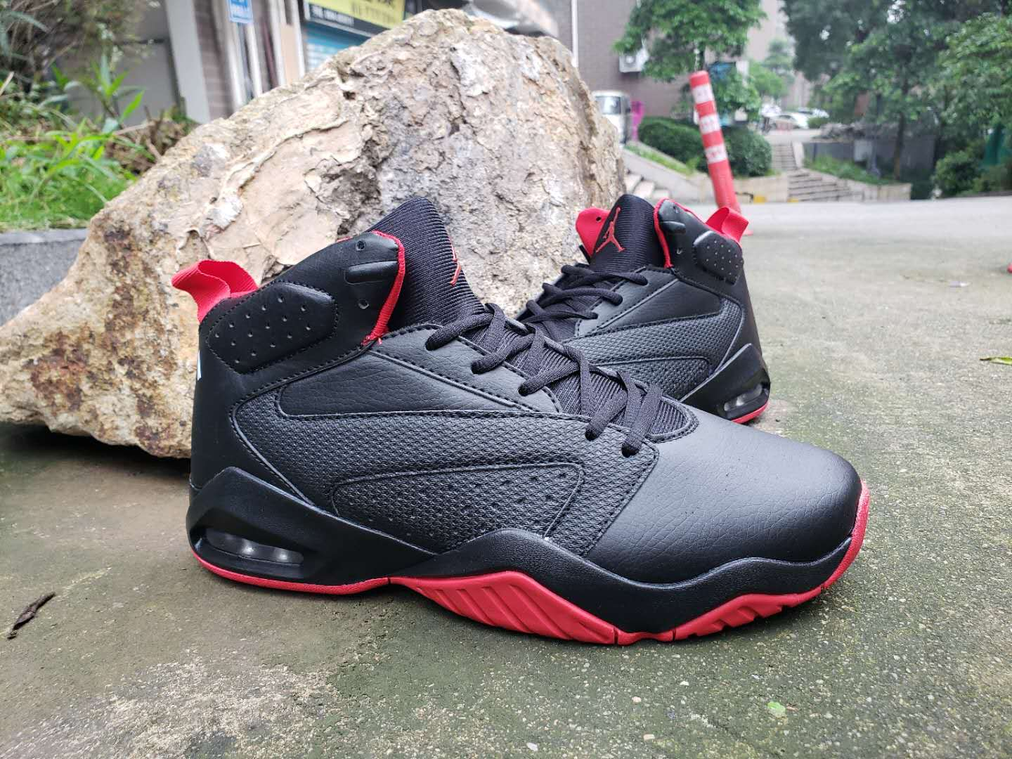 Air Jordan Lift Off AJ6 Black Red Shoes