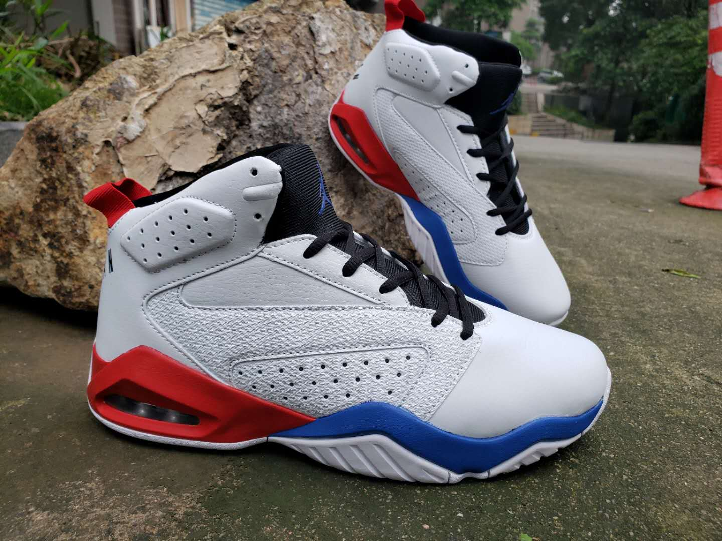 Air Jordan Lift Off AJ6 White Red Blue Black Shoes