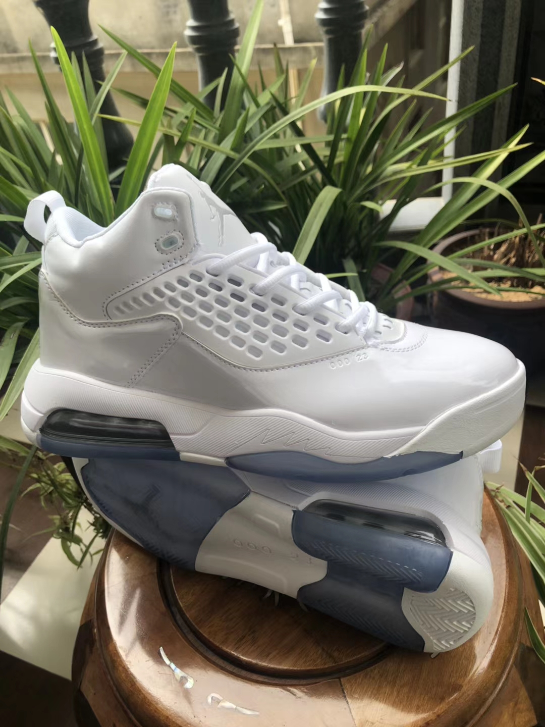 Air Jordan Maxin 30th Grey White Shoes