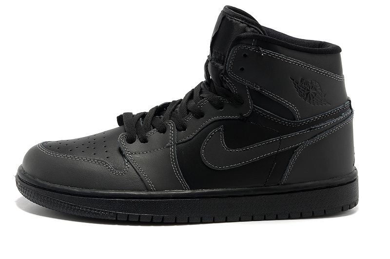 Air Jordan 1 High Black Shoes