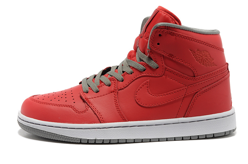 Air Jordan 1 High Red White Shoes