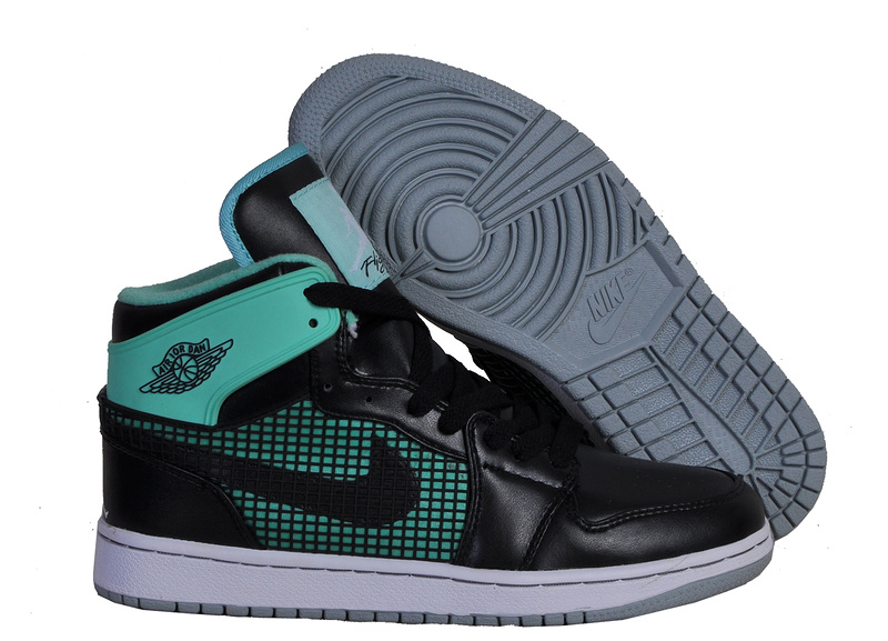 New Arrival Jordan 1 Retro 89 Black Green Shoes