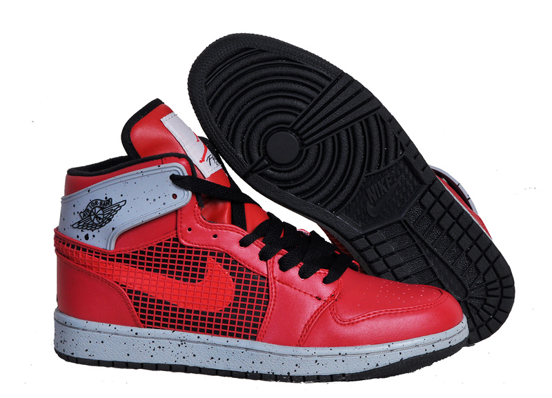 New Arrival Jordan 1 Retro 89 Red Black Shoes