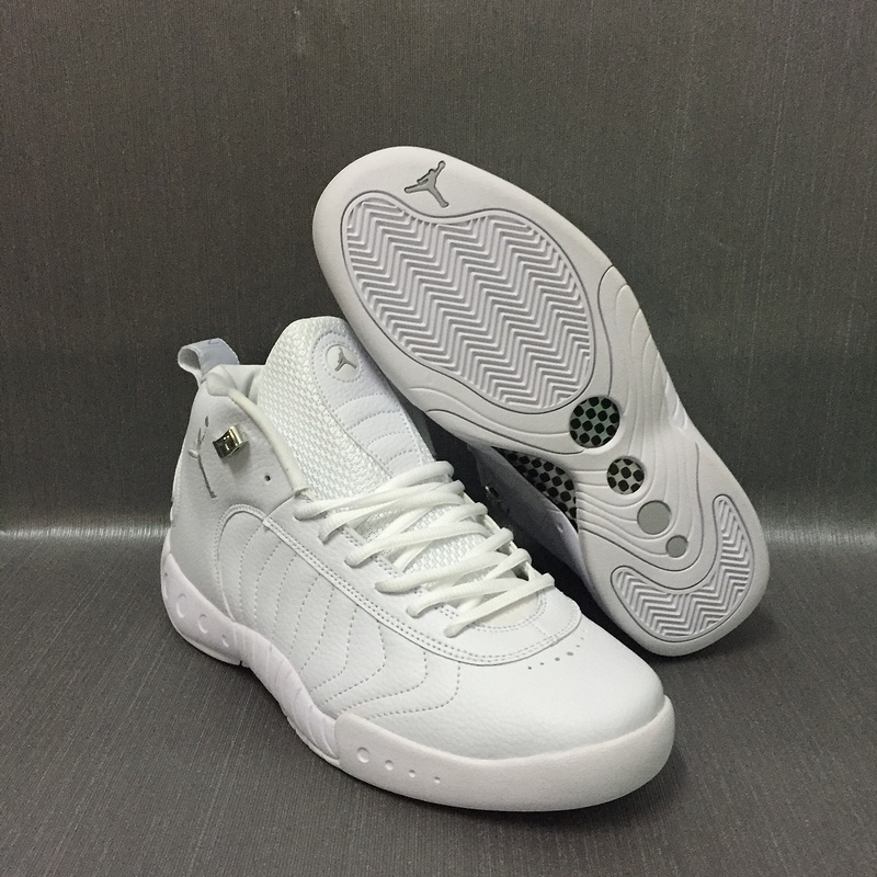 Air Jordan 12.5 All White Shoes