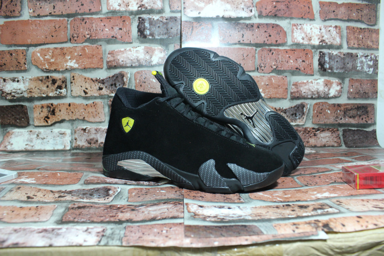 Air Jordan 14 OG Black Ferrari Shoes