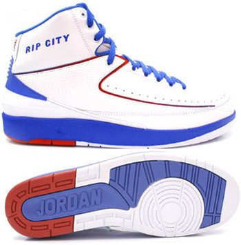 Jordan 2 Retro White Blue White Chrome