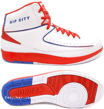 Jordan 2 Retro White Red Blue Chrome