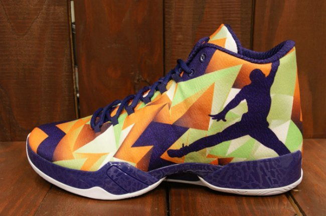 Air Jordan 29 Hare Orange Purple ShoeS