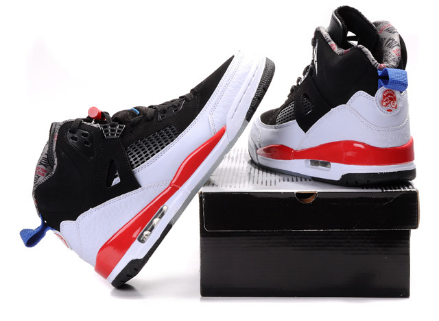Air Jordan Shoes 3.5 Black White Red