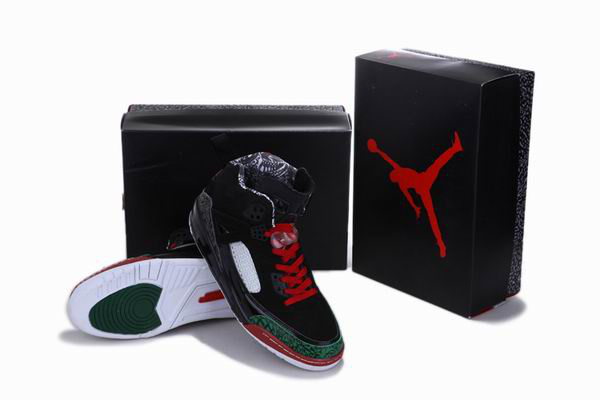 2012 Air Jordan 3.5 Reissue Black Green Red White Shoes
