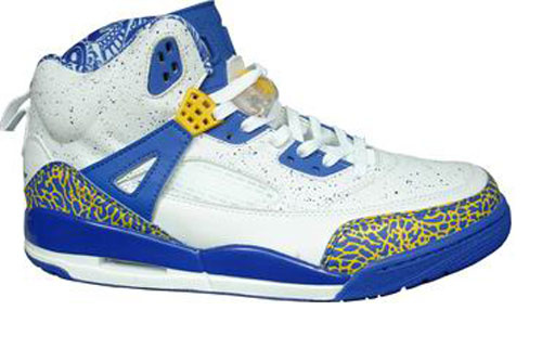 Air Jordan Shoes 3.5 White Blue