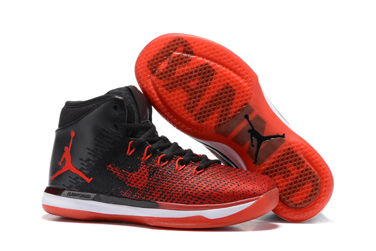 Air Jordan 31 GS Black Red Shoes