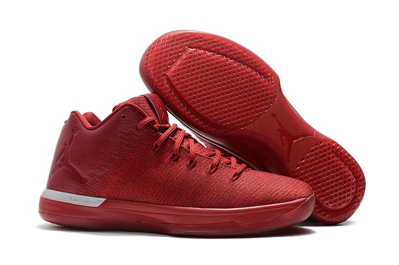 Air Jordan 31 Q54 All Red Shoes