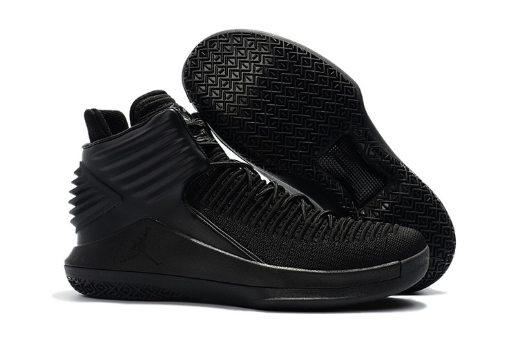 Air Jordan 32 All Black Shoes
