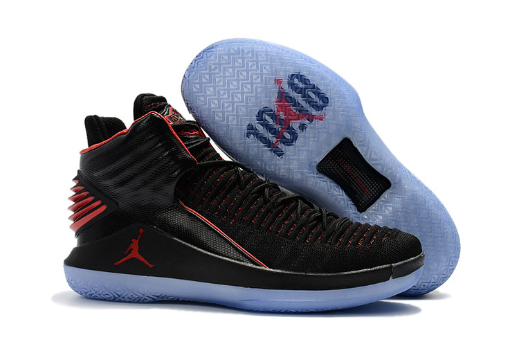 Air Jordan 32 Black Red Shoes